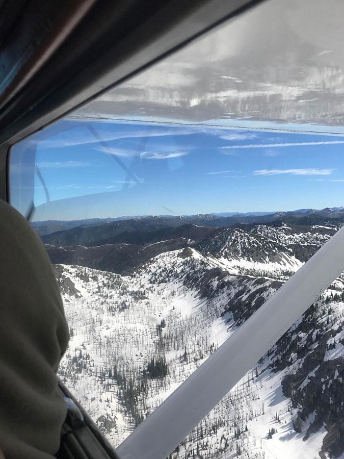 Stanley to Indian Creek Flight - Idaho Frank Church Wilderness