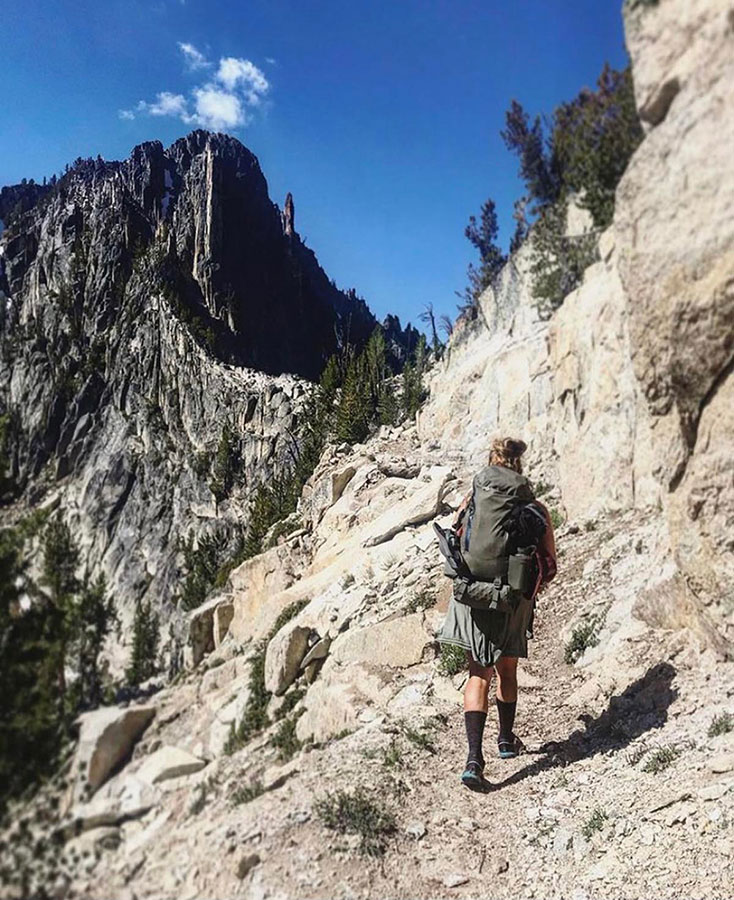 The Big Horn Crags of Frank Church-River of No Return Wilderness